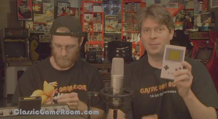 Mark and Mark on Classic Game Room