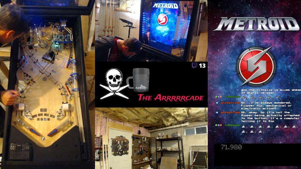 Metroid Pinball! by The Arrrrrcade