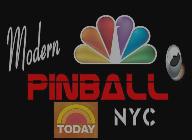 NBC's TODAY Show at Modern Pinball this Tuesday, Dec. 3rd!