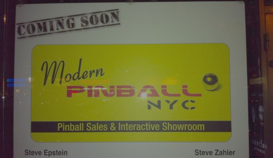 Modern Pinball NYC [Coming Soon!]