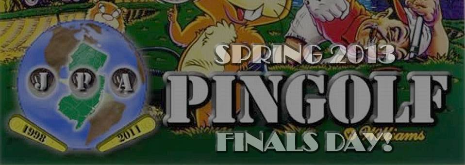Today is Spring 2013 PinGolf Finals Day!