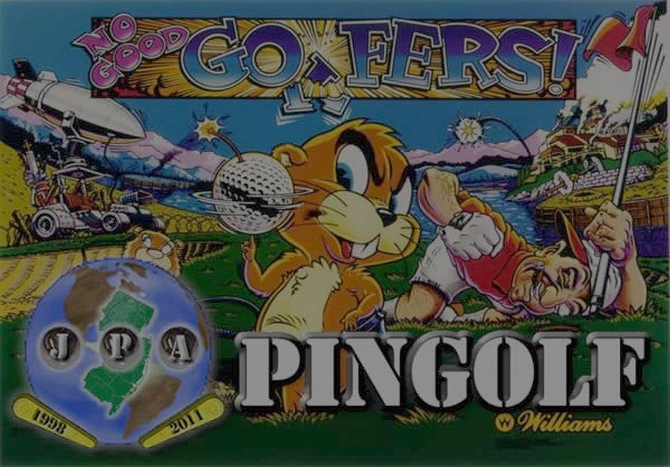 Spring 2013 Jersey Pinball Association PinGolf Tournament Update