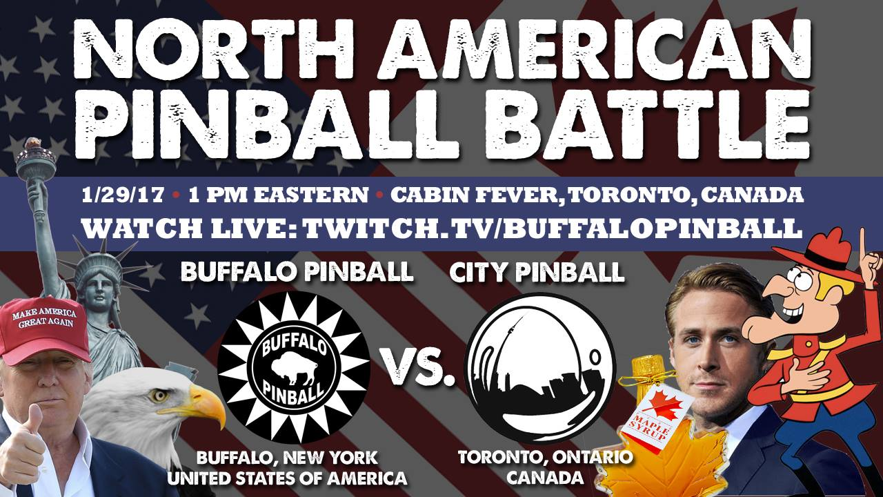 For the record: North American Pinball Battle