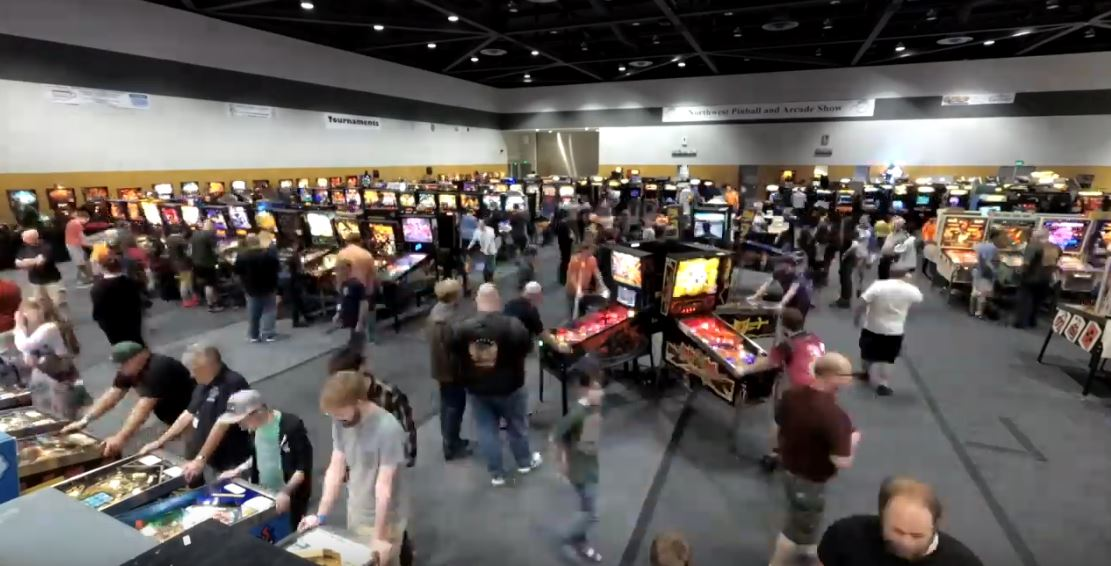 """Behind the Scenes"" Northwest Pinball and Arcade Show"