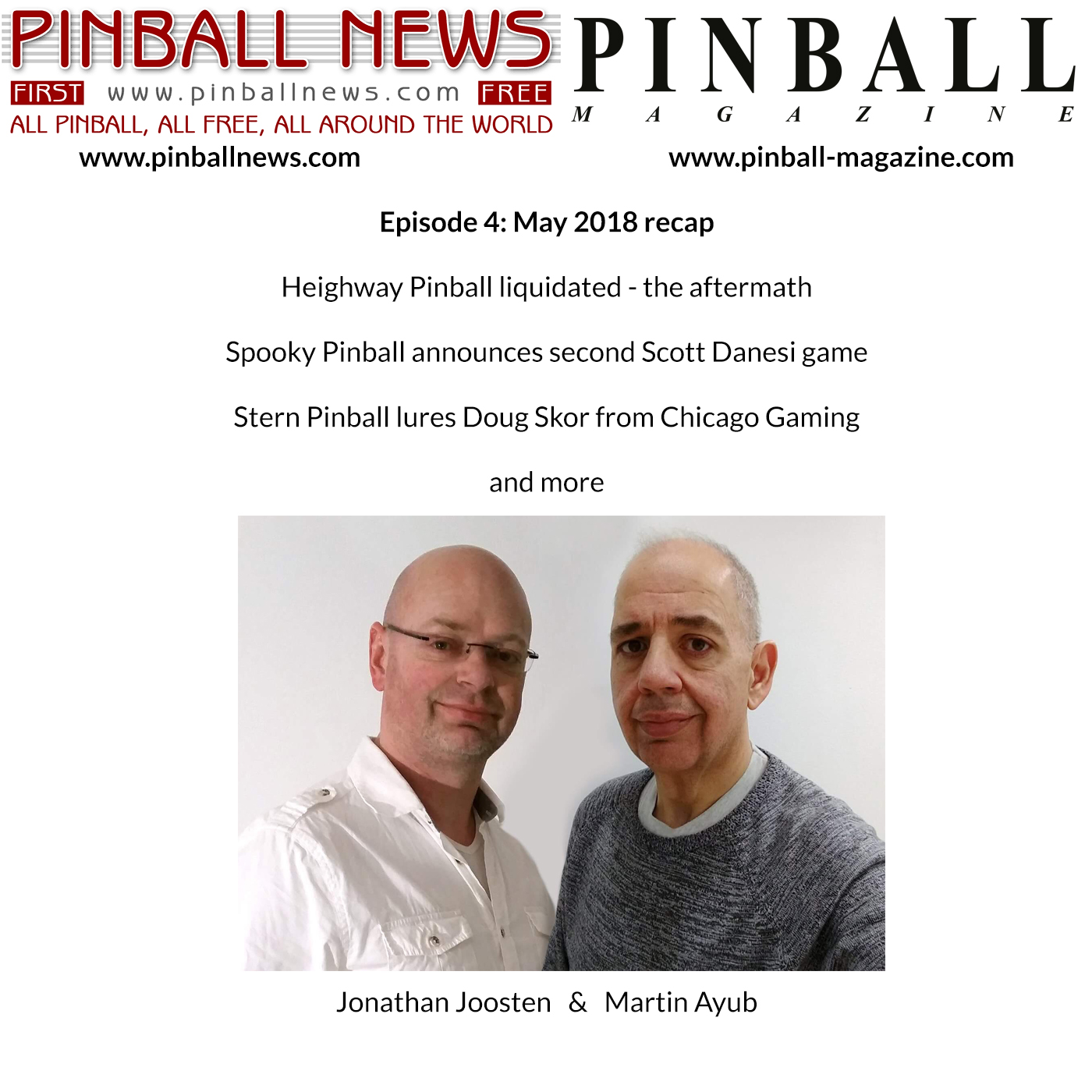 Pinball News Magazine Podcast – June Recap
