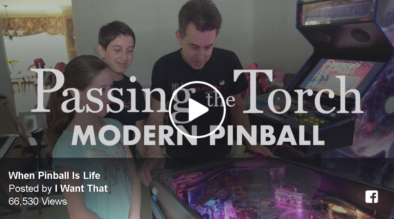 Passing The Torch – Modern Pinball