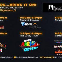Path of Play Day Marathon! 12/21 at 3AM Eastern