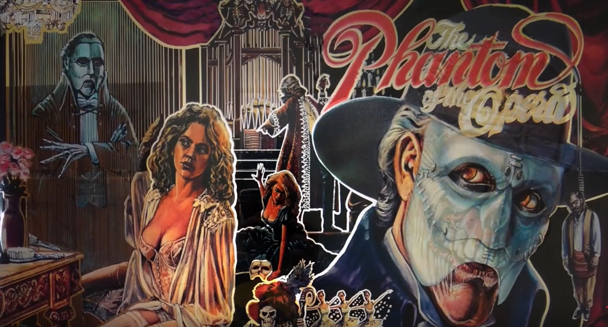 Horror-Themed Pinball Machines: The Phantom Of The Opera
