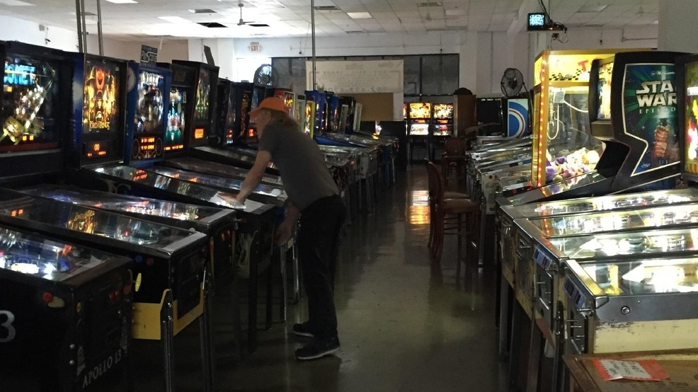 KSNV News – Las Vegas reports on New Pinball Hall of Fame progress