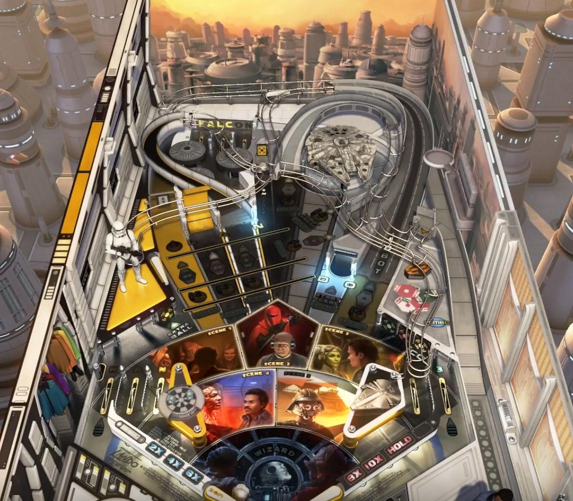 Pinball FX3 – Star Wars: Calrissian Chronicles vs. pinballwiz45b