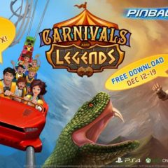 Pinball FX3 Carnivals and Legends FREE OF CHARGE until December 19 (Steam)