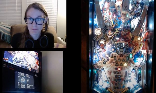 Pinball Jen: Adventures in OBS