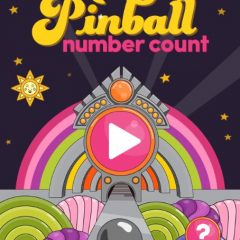 Sesame Street Pinball Number Count Game!