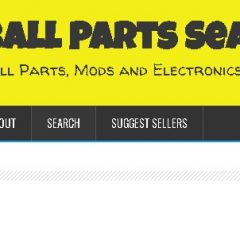 Pinball Parts Search