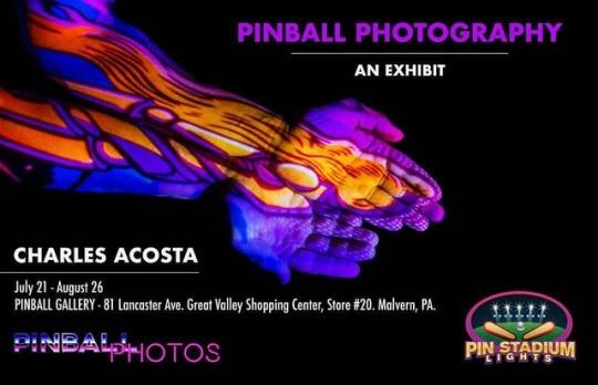 Pinball Photography – An Art Exhibit