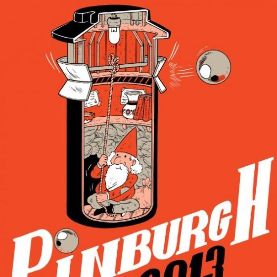Pinburgh 2013 T-shirt