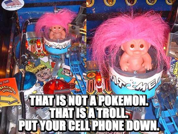 Pinball meme of the day: #PokemonNo