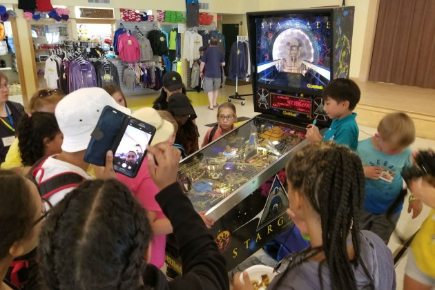 Project Pinball Donates a Pinball Machine For the Kids at Camp Sunshine to Enjoy For Years to Come