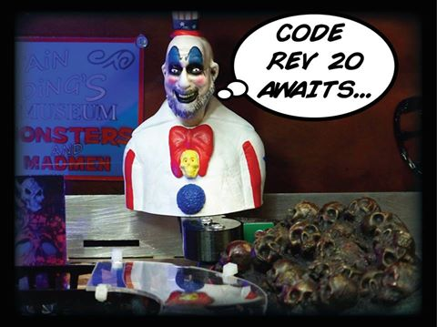 Rob Zombie Revision 20 #TheresTheCode