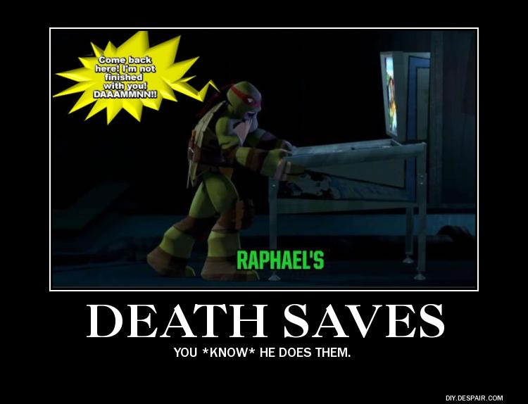 Raphael-TMNT-pinball-DS-Demotivator