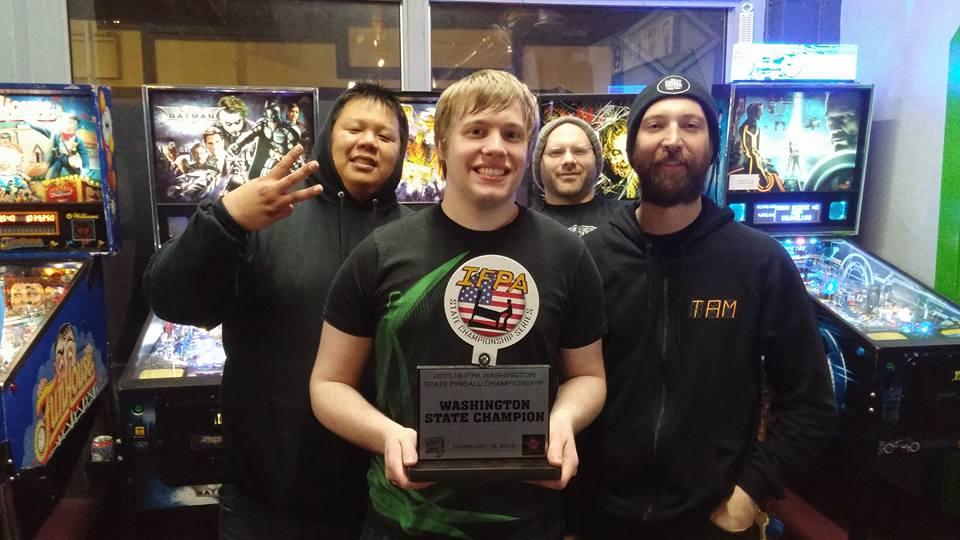 Raymond Davidson - Washington State Champion, Chris Chinn, Sagel Frazier and Travis Maisch.