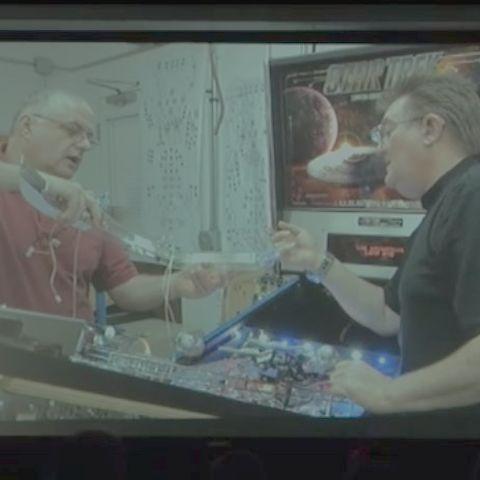 The making of Star Trek Pinball
