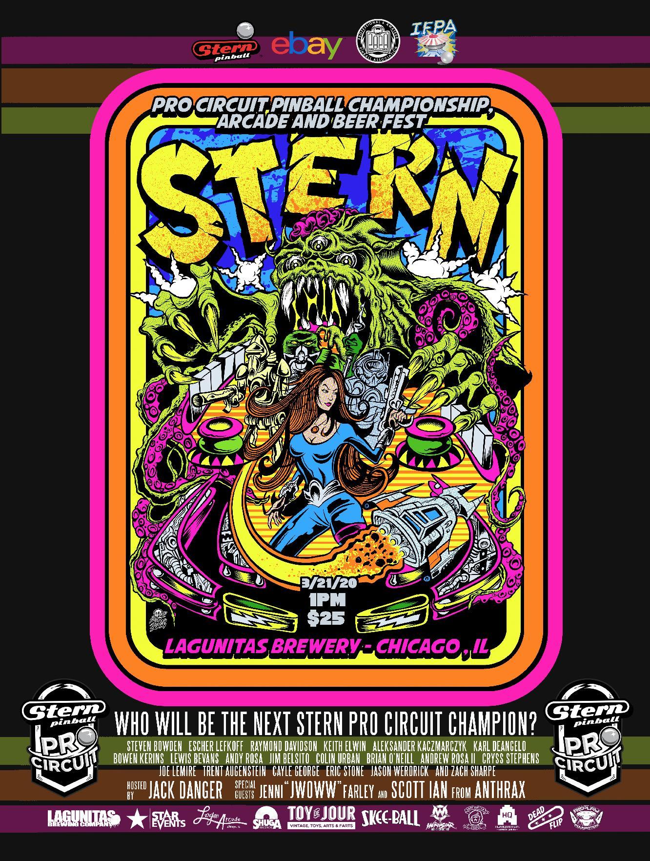 Stern Pro Circuit Championship [#SPCC2020] details!
