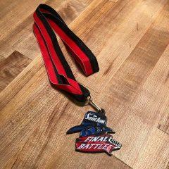 Three weeks to medal time