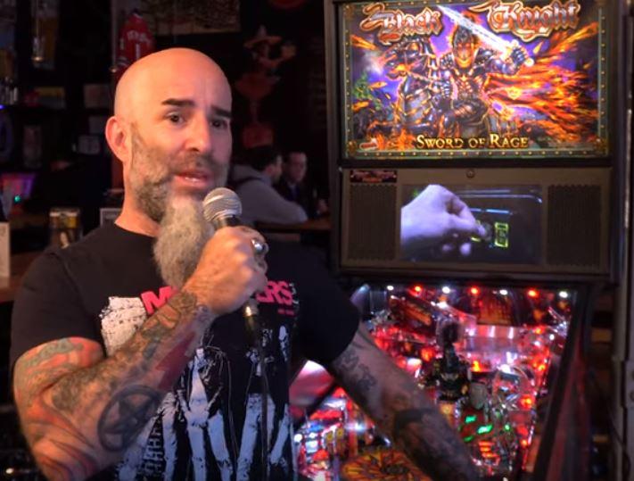 Guitarist Scott Ian on Black Knight Sword of Rage