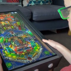 Sharpin Video Pinball Cabinet