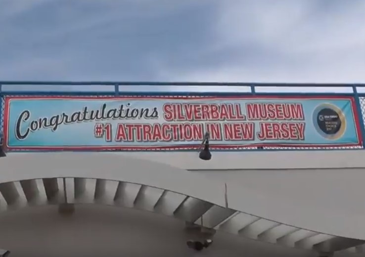 Tour of Silverball Museum in Asbury Park