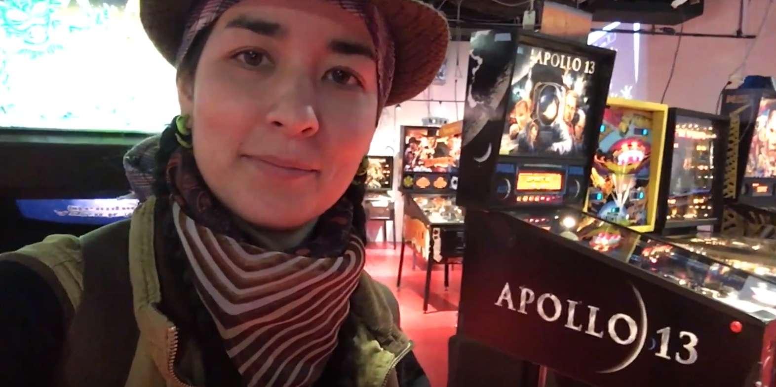 Imoto visits The Silver Ball Planet – Osaka, Japan