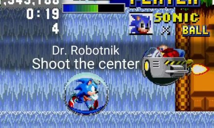 Sonic the Hedgehog Spinball: Sonic Screen Position