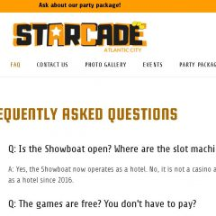 FAQ of the Day: Starcade, Atlantic City