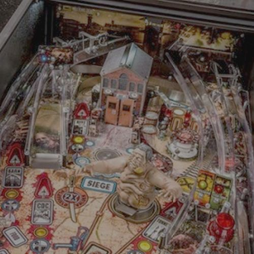 The Walking Dead Pinball to Evil Dead Sound Conversion
