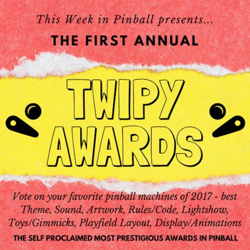 Pinball Players Podcast: TWIPYs