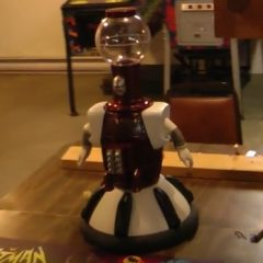 """Tom Servo"" on pinball"