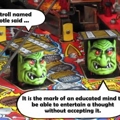 Pic of the Day: #Aristotroll