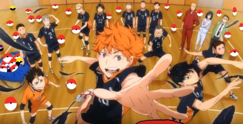 Volleyball Anime Haikyuu