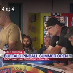 WIVB Channel 4 Buffalo covers the Buffalo Pinball Summer Open