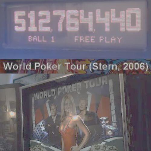 World Poker Tour World Championship [AKM Pinball]