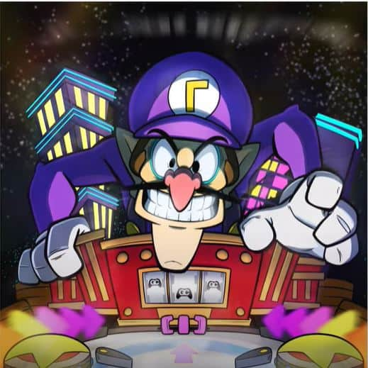 Waluigi Pinball: Player 2 Remix