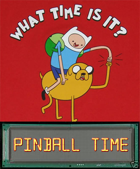 What time is it - pinball time