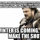 Pinball meme of the day: Winter is coming
