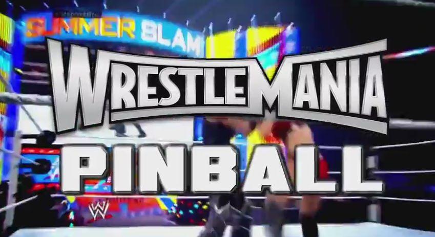 WrestlemaniaPinball