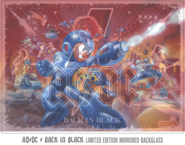 AC/DC Mega Man Edition would be awesome!