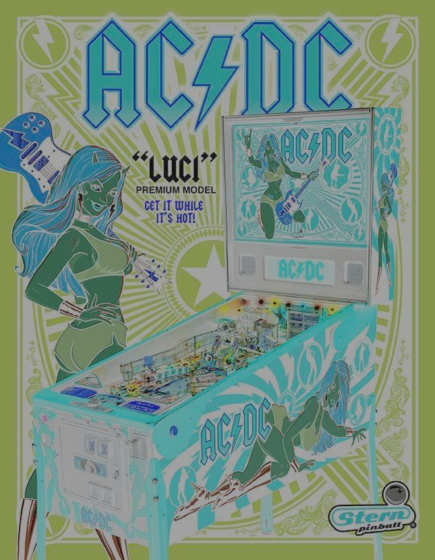 New from STERN Pinball: AC/DC Luci