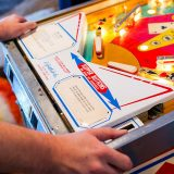 An analog pinball cabinet is being transformed into a digital art machine | The Verge