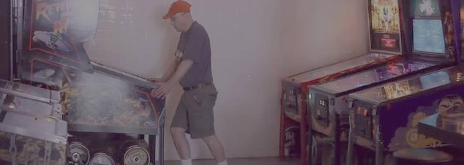 W?RK presents Allen Cihak, pinball machine operator