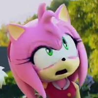 Amy Rose is not pleased with the trolling.